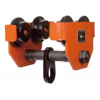 TP 0.5 Ton Steel Forged Electric Hoist Trolley , Factory Warehouse Lifting Beam Trolley for sale