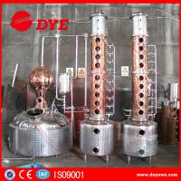 Quality Custom Durable Commercial Distilling Equipment For Vodka Alcohol for sale