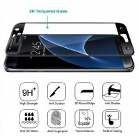 Quality Case Friendly Samsung Tempered Glass Screen Protector 3D Curved Coverage for sale