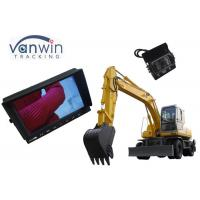 Buy cheap 3 Channels TFT Car Monitor 1024 x RGB x 600 Resolution With 1080P 2MP Cameras from wholesalers