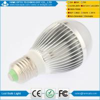 China High power indoor solar led bulb light DC12V Silver and Gold housing on sale