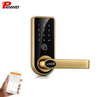 Quality Mini Waterproof Pin Code Apartment Door Lock In High Grade Mechanical Keypad for sale