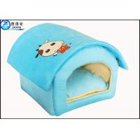 Buy Custom Multi Color Lovely Pet House Dog Houses Or Cat Houses Blue Orange Red Pink at wholesale prices