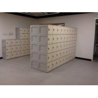 Quality Anti UV Aging Plastic School Lockers 4 Comparts 1 Column With Combination Lock for sale