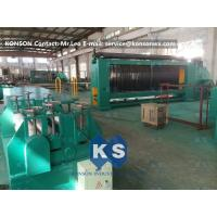 Quality PVC Coated Gabion Making Machine Durable and Automatic With 80X100mm Mesh Size for sale