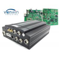 Quality 1T HDD Car Mobile DVR UPS Tracking 3G Vehicle CCTV 4 Channel Alarm System VW605 for sale