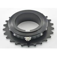 Quality 428 chain Aluminum 7075-T6 Go Kart Sprocket black 21 tooth / 25 tooth Sprocket for sale