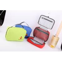 Quality Fashion Hanging Toiletry Kit in Blue Polyester for sale