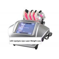 Quality 635nm LED Lipolysis Lipo Laser Weight Loss Slimming Machine for sale