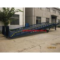 Quality 8t Man Manual Control Mobile Loading Ramp Safety Adjustable Movable Dock Ramp for sale