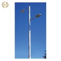 Buy cheap 6 Meter Hot Dip Galvanized GR65 Street Light Pole from wholesalers