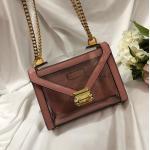 China New Michael Kors handbag Whitney White Crocodile Leather Chain Shoulder women's Bag for sale