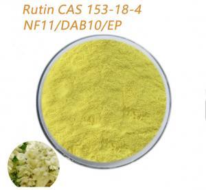 Quality Pharmaceutical Grade Rutin NF11 DAB10 EP Powder Dilating Blood Vessel for sale