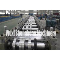 Buy Gutter Style Ridge Cap Roll Forming Machine Roof Flashing Profile at wholesale prices