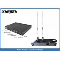 Quality Wireless Indoor Ground Station 1.5U Video Receiver with Real-time Transmission for sale
