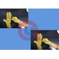 Quality Light Weight Aramid Fiber Gloves / Cut Proof Gloves For Armed Police Operation for sale