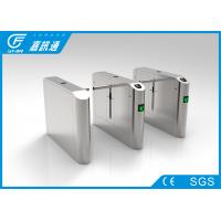 Quality Entrance And Exit Control One Way Turnstile , Turnstile Biometric Access Control for sale