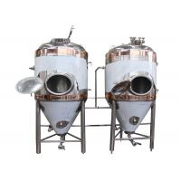 Quality DYE Full-Automatic Conical Beer Fermenter With Vacuum Relief Valve for sale