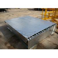 Hot Dip Galvanized Hydraulic Electric Dock Leveler With Bumpers