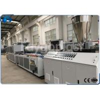 Quality Automatic Plastic Profile Production Line Extrusion Machine For PVC / WPC Raw Materials for sale