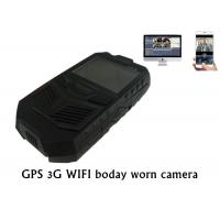 China 3G GPS WIFI Police Body Worn Camera Portable DVR For Law Enforcement on sale