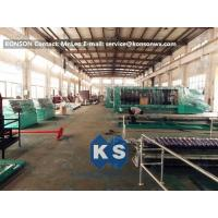 Quality Large Mesh Gabion Box Machine For Straight And Reverse Twisted Wire Mesh Machinery for sale