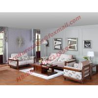 Quality High Quality 1+2+3 Wooden Sofa Set from Shenzhen Right Home Furniture in Shenzhen China for sale