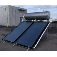 Quality High Pressured Flat Plate Solar Water Heater , Energy Saving Hot Water Heater for sale