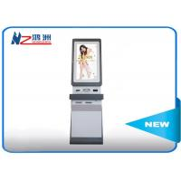 Buy cheap Windows OS Touch Screen Information Kiosk Self Service In Hotel , White from wholesalers
