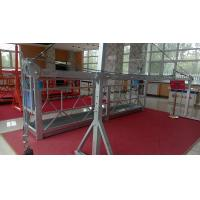 Quality Durable and Safety Steel Rope Suspended Platform with 1000kg Counter Weight for sale