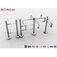 Quality Entrance Revolving Gate Half Height Turnstiles 0.2s Opening / Closing Time for sale