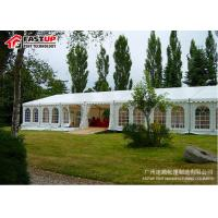 Quality Party Event Church Outdoor Wedding Tents , Big Air Conditioned Event Tent for sale