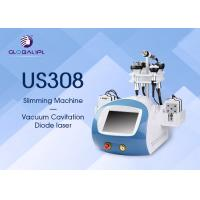 Quality Beauty Salon Vacuum Slimming Machine Vacuum Cavitation System With 6 Handles for sale