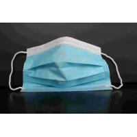 Quality Industry Use 3 Ply Disposable Face Mask PM2.5 Protection High Efficient Filtration for sale