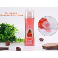 Quality Top Rated Personal Lube Citrus Lubricant Oil Sex Flavored Personal Lube 100ml for sale