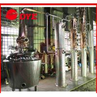 Quality red copper commercial alembic distillation equipment for sale