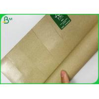 China Customized 10GSM PE Coated 50GSM Craft Paper / FDA Meat Wrapping Paper on sale