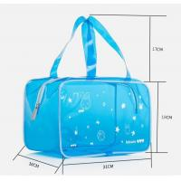 Hot Sale Transparent PVC Cosmetic Bag Vinyl Toiletry Pouch PVC Makeup Pouch Swim Beach Bag Travel Makeup Pouch