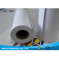 Quality Matte Printable PP Synthetic Paper , Polypropylene Paper Rolls For Dye Ink for sale