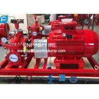 Quality Electric Motor Driven Split Case Fire Pump 500GPM@180PSI For Water Use for sale