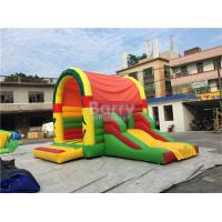 Buy cheap Clearance Inflatable Bouncer , Beautiful Jump House With Small Slide from wholesalers