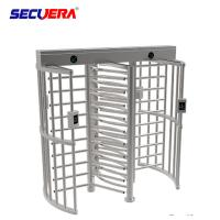 China Biometric Rotor Turn Style Security Turnstile Gate Stainless Steel Full Height on sale