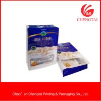 Quality Semi Aluminium Material Flat Bottom Pouches For Sugar Food 200G Non - Toxic for sale
