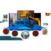 Buy cheap AMS-DGP60 Floating Fish/Pet Feed Extruder/Single Screw Fish Feed Making Machine from wholesalers