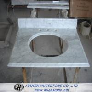 Quality Cream White Sink Countertop, Granite Sink Countertop for Kitchen for sale