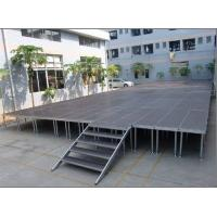 Buy 3 Level Adjustable Height 400KG Loading Capacity 4 X 8ft Anti-slip Waterproof Portable Stage Use in all kind of events at wholesale prices