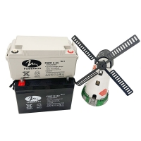 Quality Sealed UPS Back-Up 12V Solar Deep Cycle Battery 90AH for sale