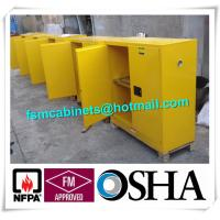 Buy cheap Flammable Industrial Safety Cabinets With Earthing Socket For Combustible Liquid from wholesalers