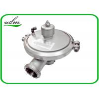 Quality Male Thread Sanitary Pressure Relief Valve , Stainless Steel Pressure Relief Valve for sale