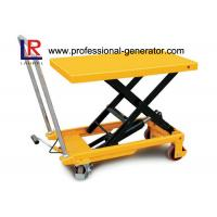 Buy High Capacity Warehouse Material Handling Equipment Electric Hydraulic Scissor Lift Table at wholesale prices
